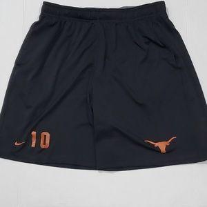 University of Texas #10 Nike Dri-Fit shorts